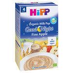 """HIPP Бебешка био каша """"Лека нощ"""" ябълка и копър 4м+ 250 гр."""
